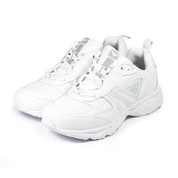 (男) JUMP 全白慢跑鞋 白 鞋全家福