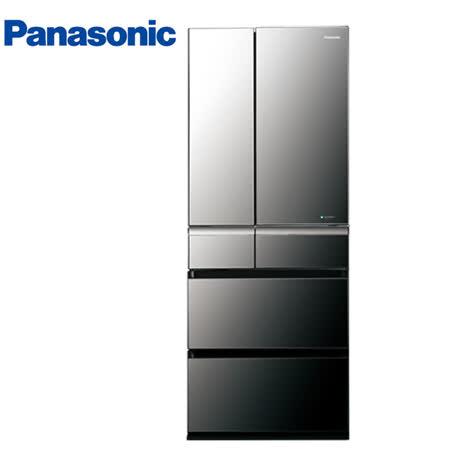 Panasonic 國際 608L六門 日本製變頻 冰箱 NR-F611VX