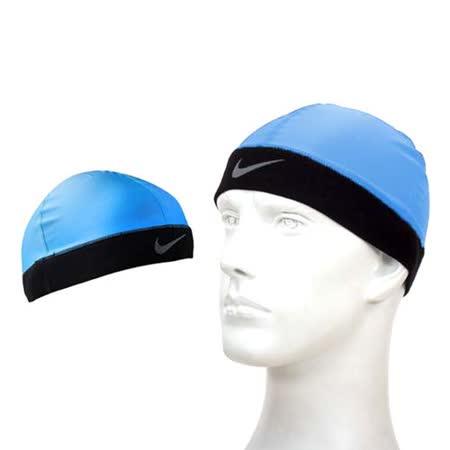 NIKE PRO 酷帽-單車 自行車 慢跑 瓜皮帽 藍 F
