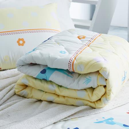 美夢元素 可愛頌 天鵝絨涼被床包組 雙人加大四件式