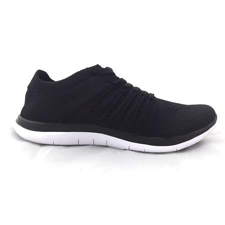 AIRWALK(男)- 城市運動系列 輕量透氣編織慢跑鞋 - 黑