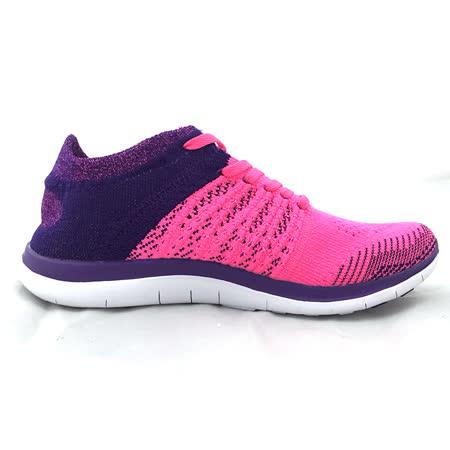 AIRWALK(女)- 城市運動系列 輕量透氣編織慢跑鞋 - 紫
