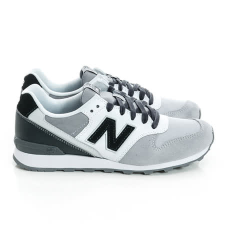 New Balance (童)經典復古鞋 灰白WR996IF