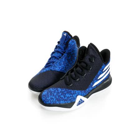 ADIDAS 女 籃球鞋 黑藍AQ8509