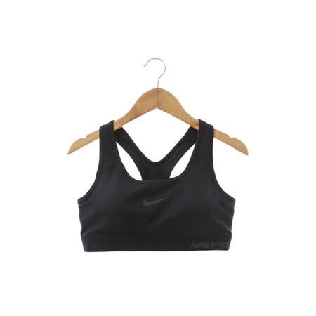 NIKE PRO CLASSIC (女)運動內衣 黑-589423010