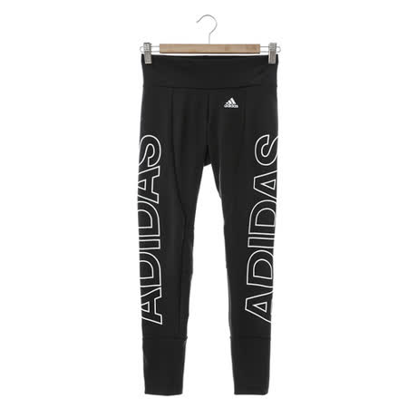 Adidas 女緊身褲 黑-AJ6348