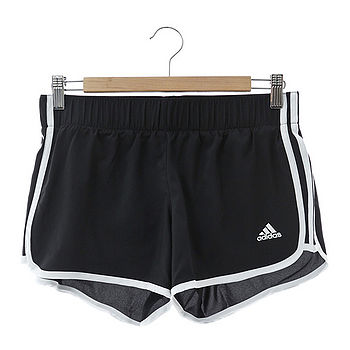 adidas (女)運動短褲 黑ai8111