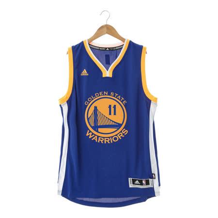 Adidas(男)籃球背心 藍-A45912