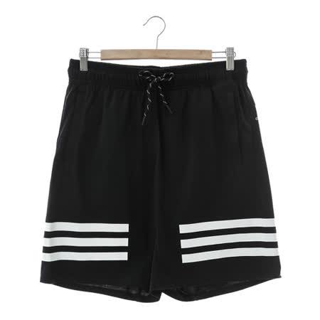 adidas (男)運動短褲 黑AK1579