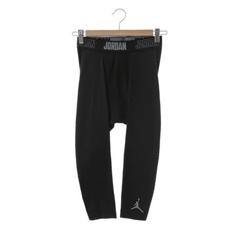 Nike男 緊身訓練健身褲七分褲 黑724777-010