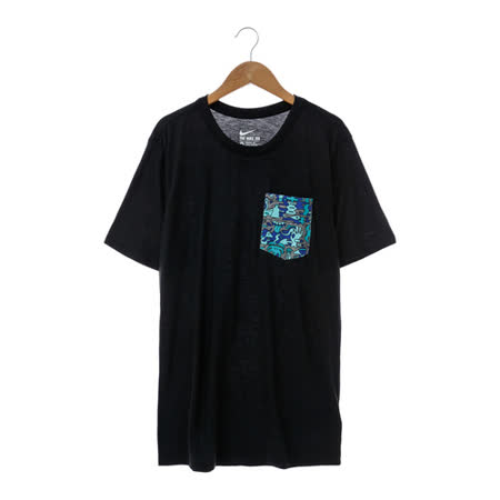 NIKE男圓領T(短) 黑779837-010