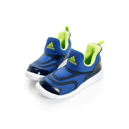 adidas(童)慢跑鞋AQ2887藍