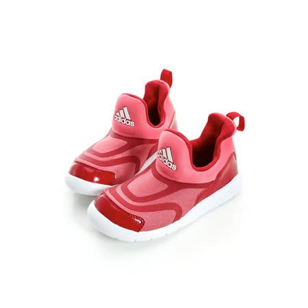 adidas (童)慢跑鞋 紅AQ5108