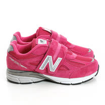New Balance 童鞋 慢跑鞋 桃KV990PEP