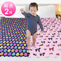 【兩件組】台灣製造5X6尺雙人防水透氣巧能墊/保潔墊/護理墊/防汙墊/兒童隔尿墊 (DF083) 隨機出色