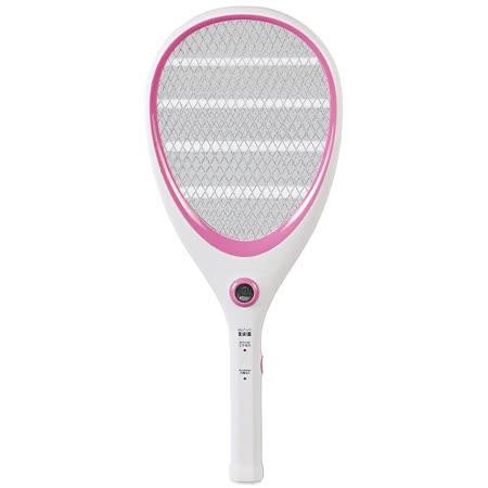 【大家源】三層充電式電蚊拍-網球拍造型款。三色/TCY-6143