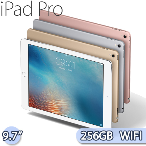 Apple iPad Pro 9.7吋 Wi-Fi 256GB 平板電腦【送副廠背蓋+螢幕保護貼+平板支架+耳機】