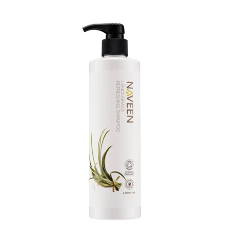NAVEEN-檸檬香茅清新洗髮精(350ml/瓶,共1瓶)
