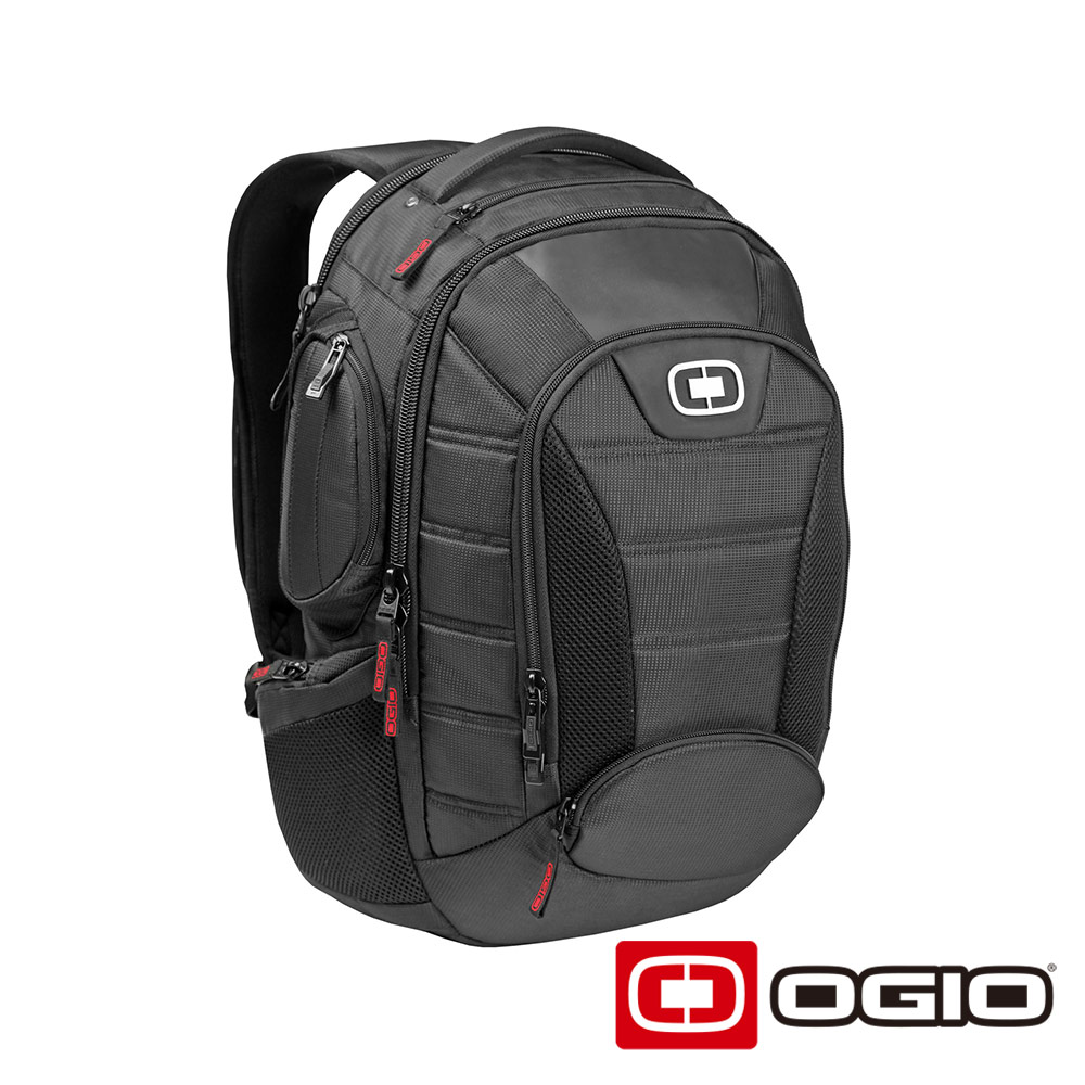 OGIO BANDIT 17 吋甲蟲電腦後背包 111057-03 (黑色)