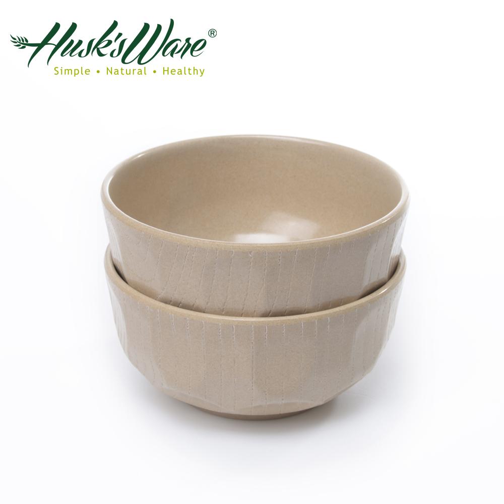 ~美國Husk's ware~稻殼天然無毒環保日式大餐碗^(2入^)