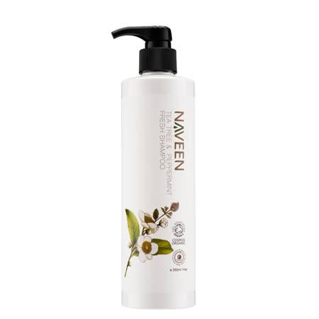 NAVEEN-茶樹薄荷清爽洗髮精(350ml/瓶,共1瓶)