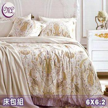 名流寢飾 100%天絲雙人加大床包組 -北歐雙色
