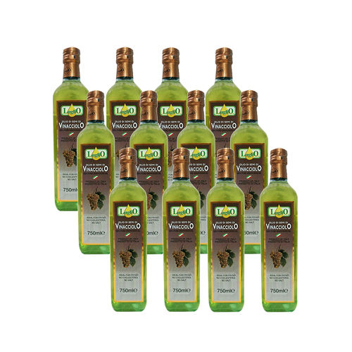 LugliO 義大利羅里奧特級葡萄籽油(750ml*12入組)