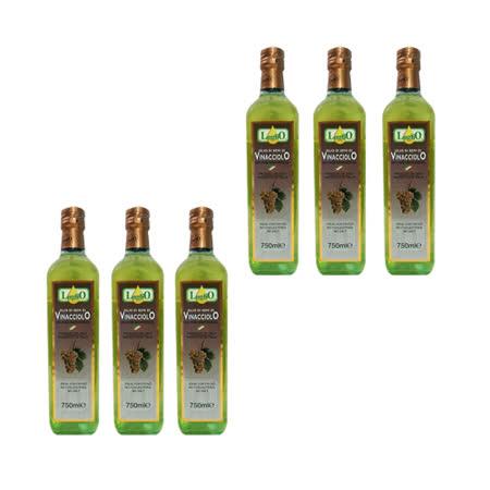 LugliO 義大利羅里奧特級葡萄籽油(750ml*6入組)