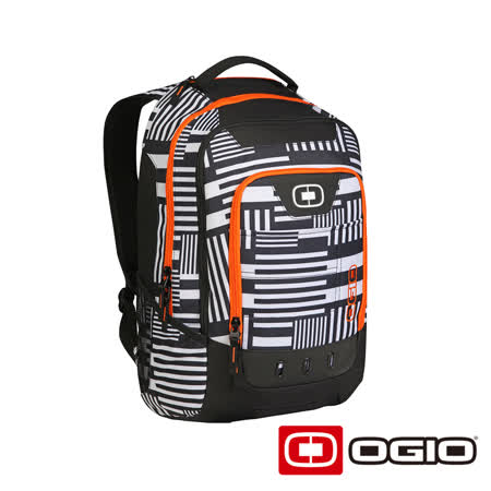 OGIO OPERATIVE 17 吋行動電腦後背包(白迴紋)