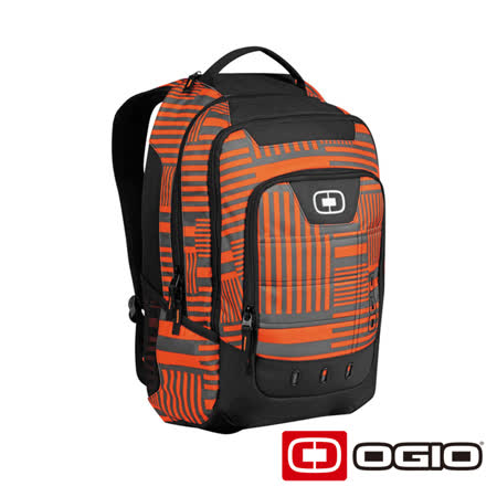 OGIO OPERATIVE 17 吋行動電腦後背包(橘迴紋)