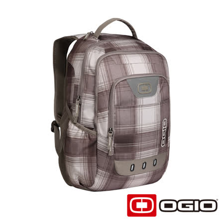OGIO OPERATIVE II 17 吋行動電腦後背包(棕白格紋)