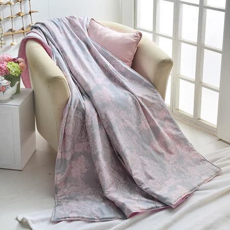 義大利La Belle《伊莎貝拉》台灣製純棉涼感涼被(5x6.5尺)