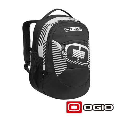 OGIO ROGUE 17 吋侵略者電腦後背包 (黑白條紋)