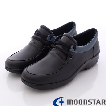日本輕熟女機能鞋-日本製EVE休閒仕女舒適服貼機能鞋(3E) -V2606黑(22~24.5cm)