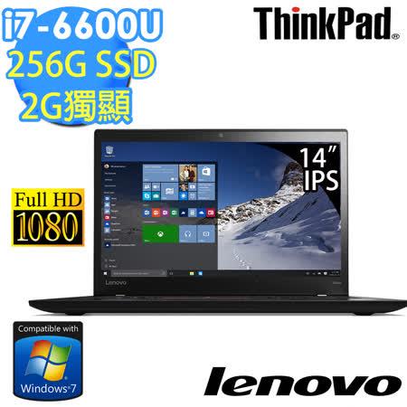 Lenovo ThinkPad T460s 14吋《Win7專業版》i7-6600U 256SSD 2G獨顯 商務筆電(20F9A02YTW)★贈N100無線滑鼠+三年防毒+三轉二接頭