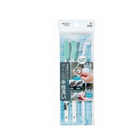 日本 MAMEITA 保溫瓶罐清洗清潔刷具組 40組