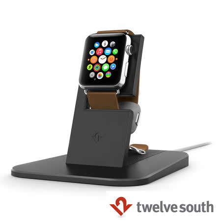 Twelve South Apple Watch HiRise Stand 蘋果智慧手錶充電立架 (黑色)