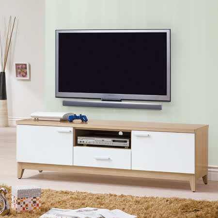 HAPPYHOME 泓昌雙色5尺電視櫃UZ6-233-5