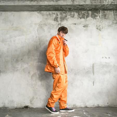 OutPerform-本格スタイル日系風雨衣(機車雨衣、兩截式雨衣) 深藍
