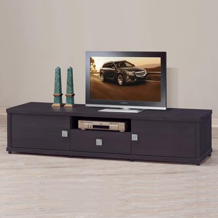 HAPPYHOME 亞泰紫胡桃6尺電視櫃UZ6-241-5