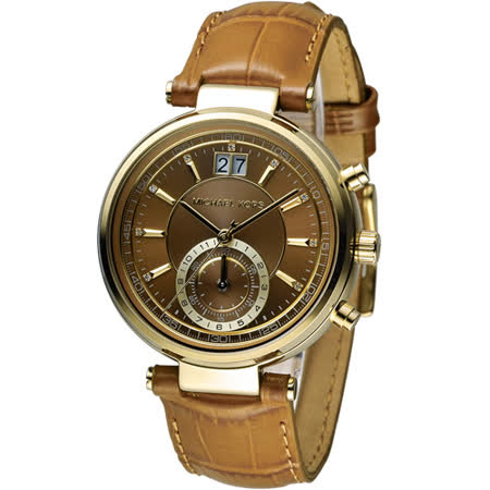 Michael Kors 古典魅力計時腕錶 MK2424