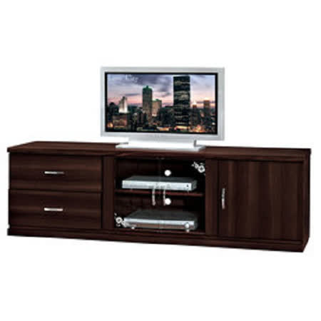 HAPPYHOME 立德6尺胡桃電視櫃UZ6-246-1