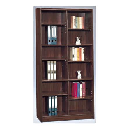 毛利胡桃3x6尺組合書櫃(360A)
