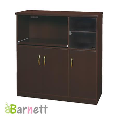 Barnett-防潮防蛀塑鋼電器櫃-4門1活動板
