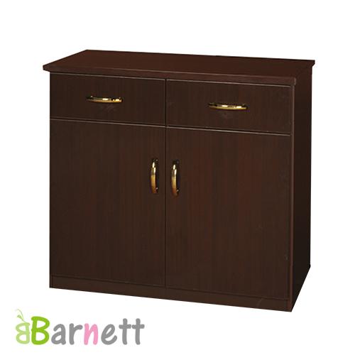 Barnett~防潮防蛀塑鋼碗盤櫃~2門2抽