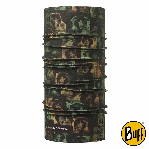 BUFF 系出同猿 國家地理頻道大 遠 百 周年 慶 台中COOLMAX抗UV頭巾