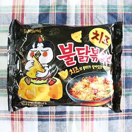 【三養】起司火辣雞肉風味炒麵