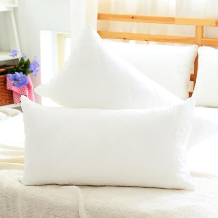 『Love City 寢城之戀』 馬卡龍炫彩防汙保潔枕套-2入 (純淨白) MIT台灣製造