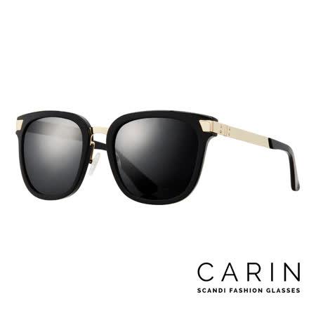 CARIN 韓國名星愛用經典款太陽眼鏡 Klädd-C1(黑)