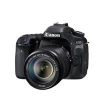 Canon EOS 80D + 18-135mmSTM 單鏡組*(中文平輸)-送64G記憶卡+專屬電池+單眼雙鏡包+強力大吹球+細纖維拭鏡布+極細毛刷+數位清潔液+硬式保護貼